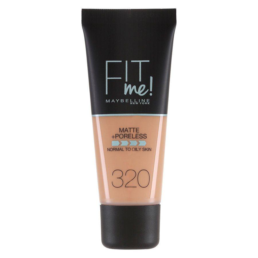 Maybelline Fit Me Matte + Poreless Foundation, Natural Tan (30 ml)