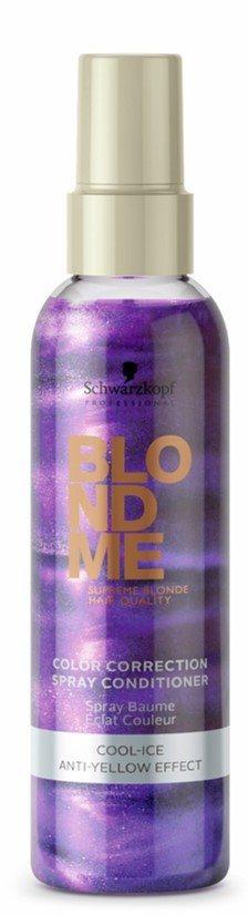 Schwarzkopf Blondme Blonde Cool Ice Spray Conditioner (150ml)