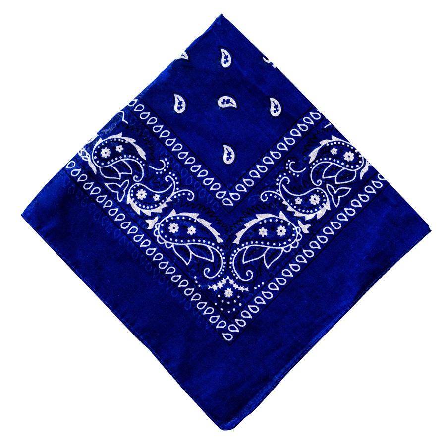 Shelas Bandana, blau (55 x 55 cm)