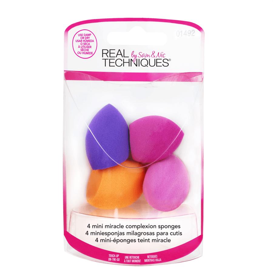 Real Techniques 4 Mini Miracle Complexion Sponges