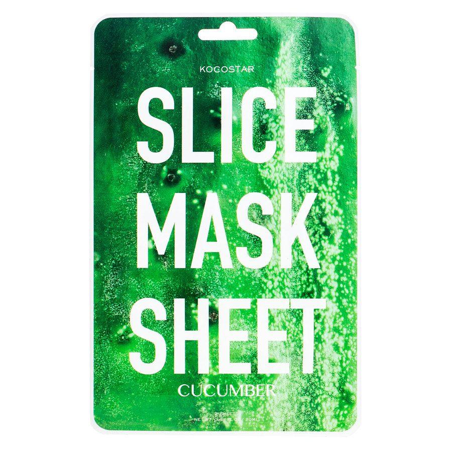 Kocostar Slice Mask Sheet, Cucumber