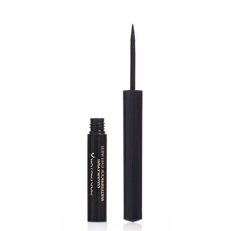 Max Factor Colour X-pert Waterproof Wasserfester Eyeliner, Deep Black 01