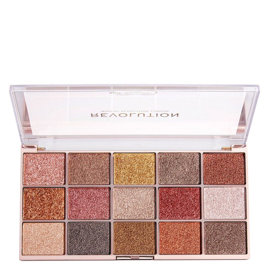 Makeup Revolution Foil Frenzy Eyeshadow Palette, Fusion (15 x 1,1 g)
