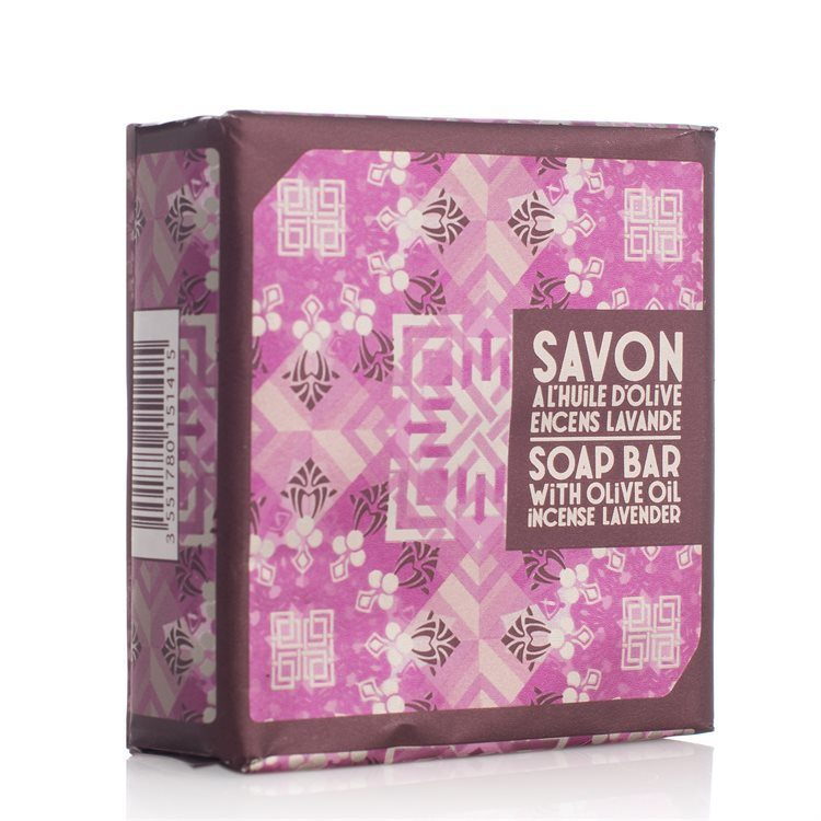Compagnie de Provence Seife mit Olivenöl (100 g), Incense Lavender