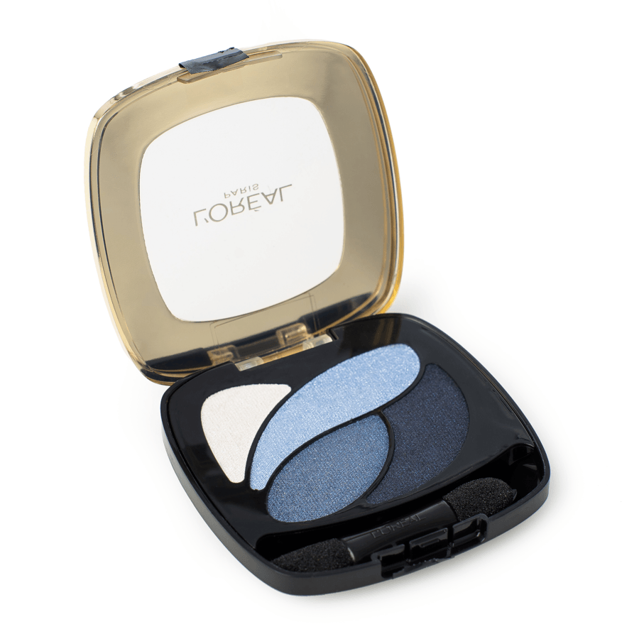 L'Oreal Paris Colour Riche Les Ombres Quad, E8 Eternal Blue