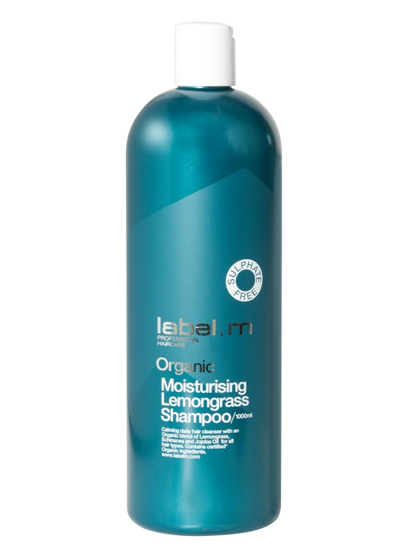 label.m Organic Moisturising Lemongrass Shampoo (1000 ml)