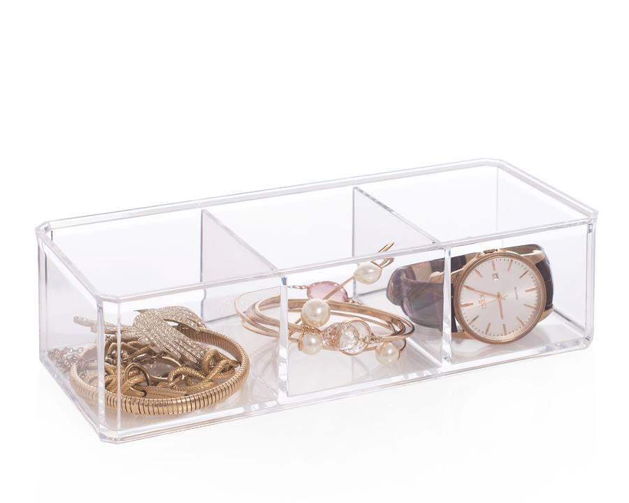 Jewelry Organizer – Schmuckkästchen mit drei Fächern