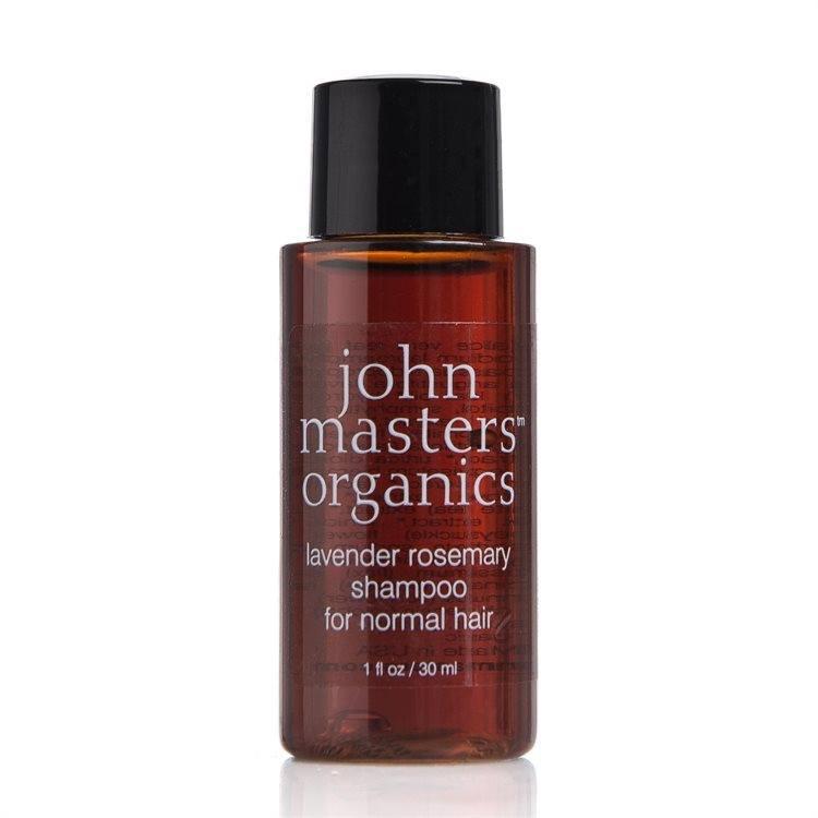 John Masters Organics Lavender Rosmary Shampoo für normales Haar (30 ml)