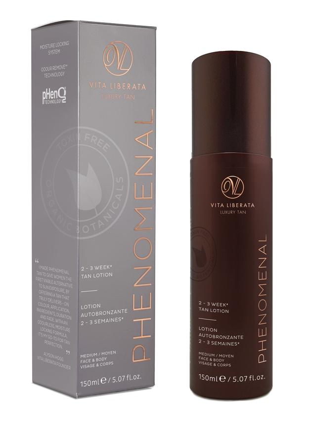 Vita Liberata pHenomenal 2–3 Week Tan Lotion Face & Body Selbstbräuner (150 ml), Medium