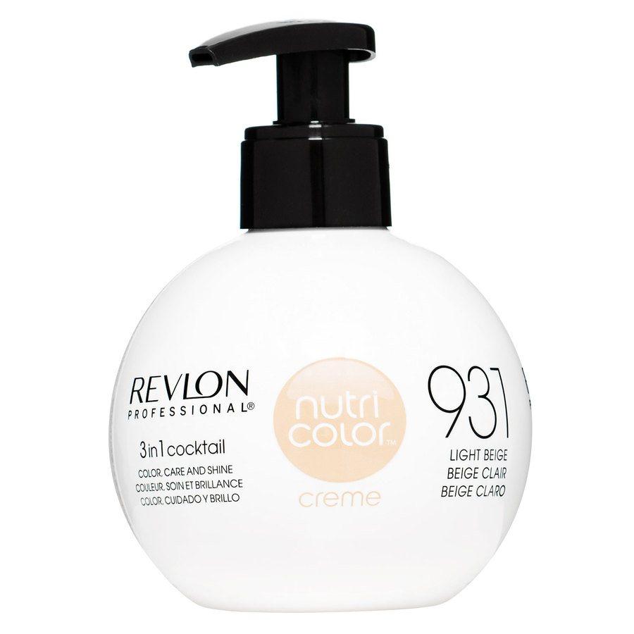 Revlon Professional Nutri Color Creme 270ml #931 Light Beige