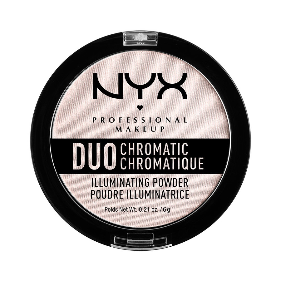 NYX Professional Makeup Duo Chromatic Illuminating Powder, Snow Rose DCIP04