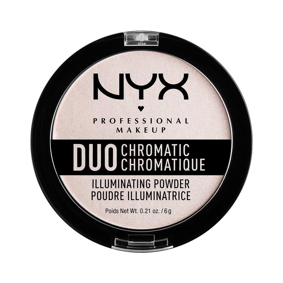 NYX Professional Makeup Duo Chromatic Illuminating Powder, Snow Rose DCIP04