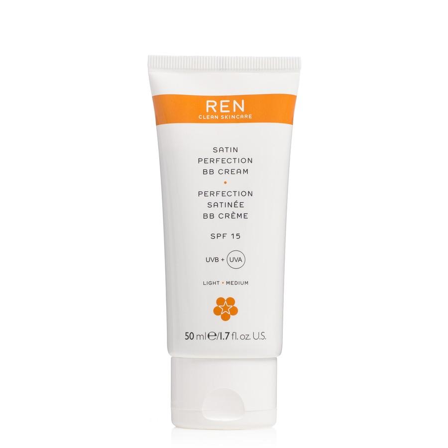 REN Satin Perfektion BB Cream SPF 15 BB Creme mit Lichtschutzfaktor 15, (50 ml)