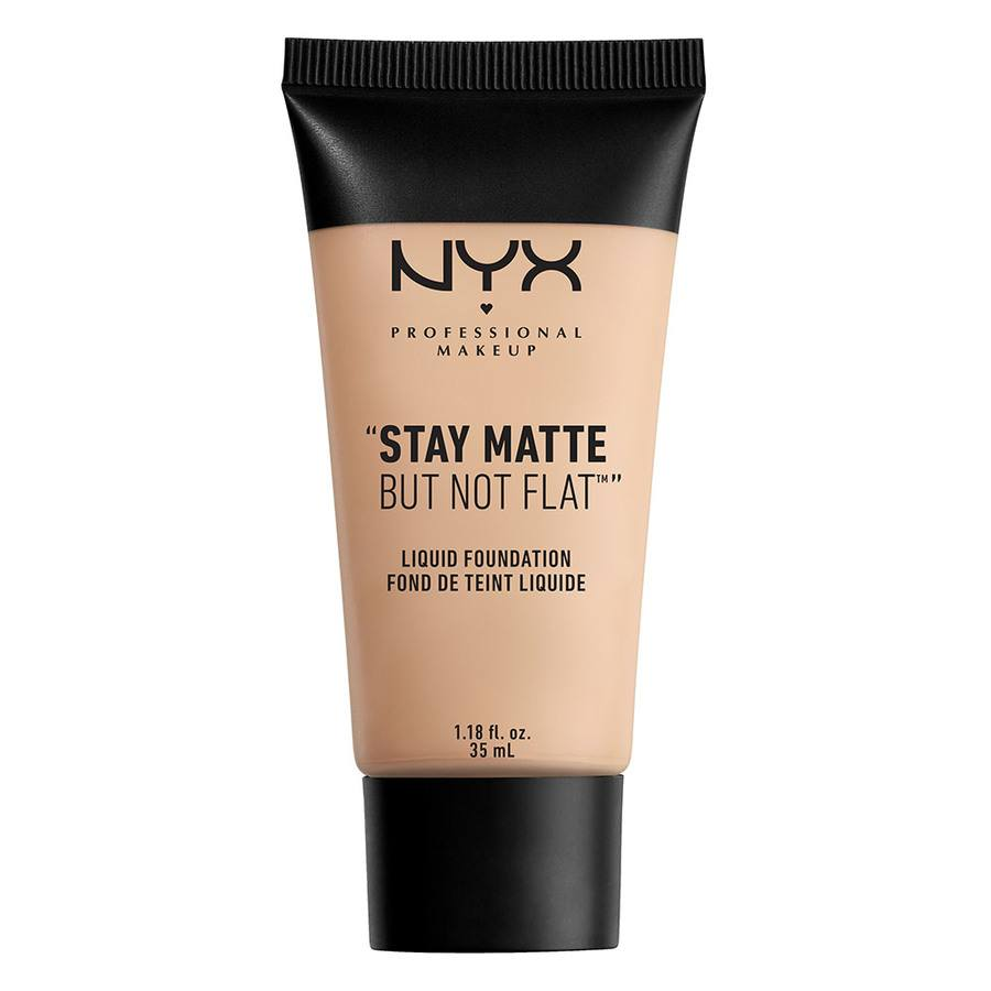 NYX Professional Makeup Stay Matte But Not Flat Liquid Foundation, Porcelain SMF 16 35ml