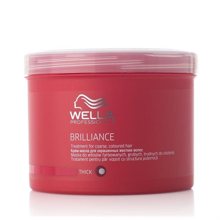 Wella Professionals Brilliance Treatment Dickes/kräftiges Haar (500 ml)