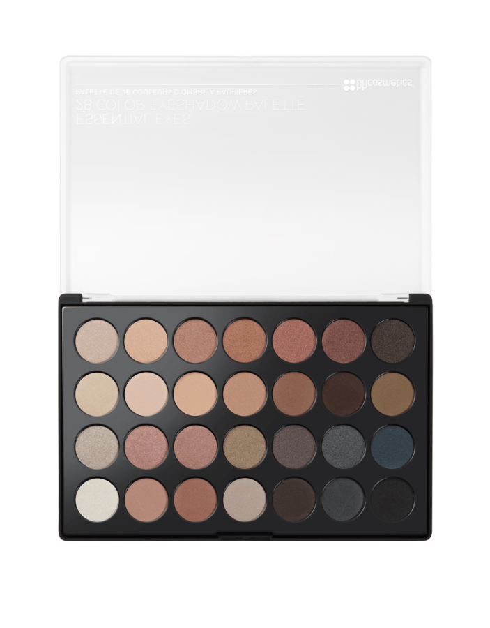 BH Cosmetics Essential Eyes 28 Colour Eyeshadow Palette