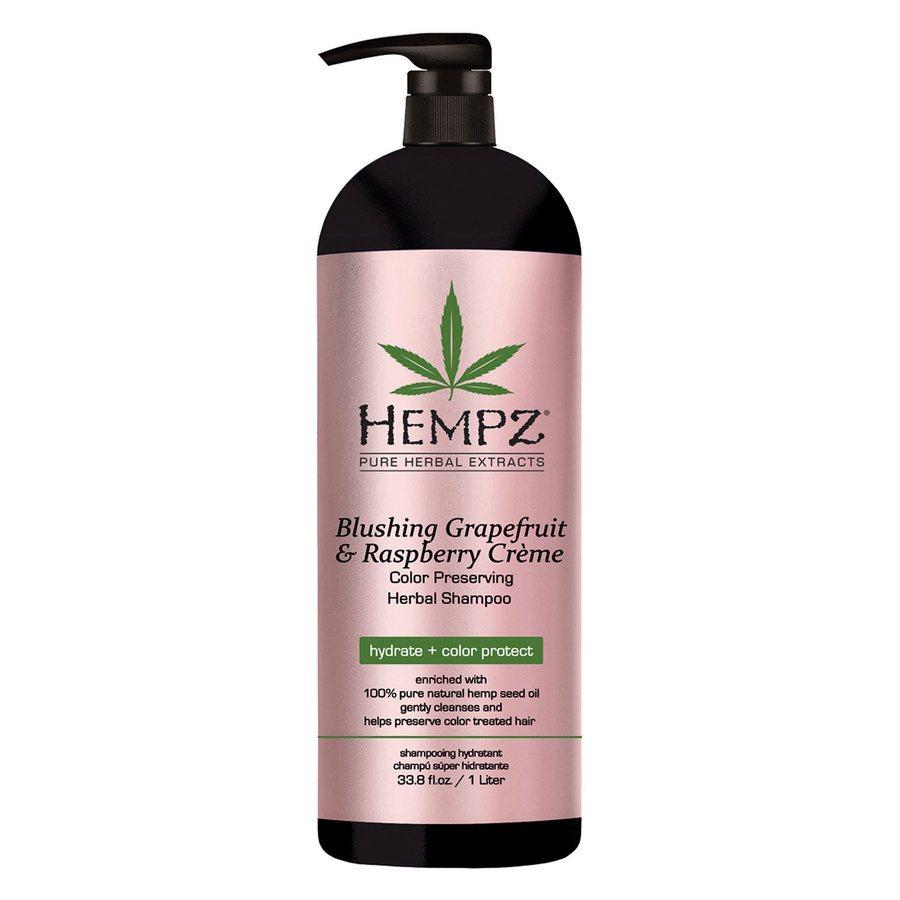 Hempz Blushing Grapefruit & Raspberry Crème Shampoo (1000ml)