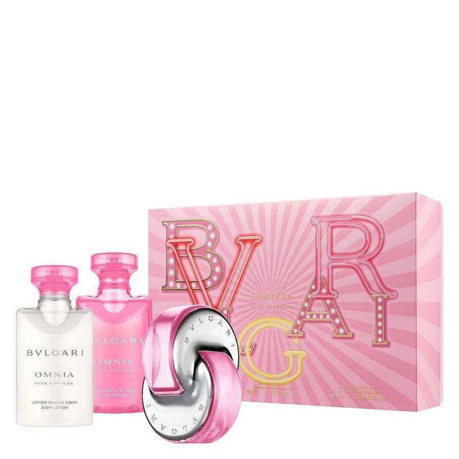 Bvlgari Omnia Pink Sapphire Gift Set (3x40 ml)