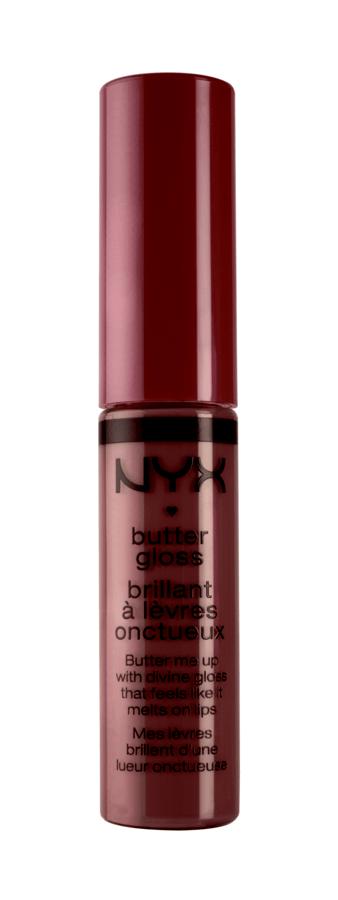 NYX Prof. Makeup Butter Gloss (8 ml), Devil's Food Cake