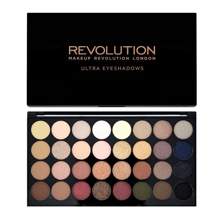 Makeup Revolution 32 Eyeshadow Palette Flawless 16g
