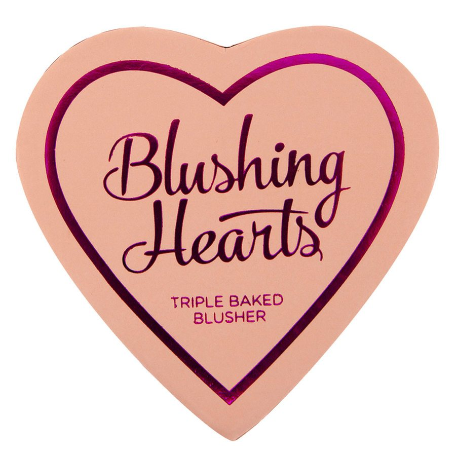 I Heart Revolution Blushing Hearts Blusher Peachy Pink Kisses