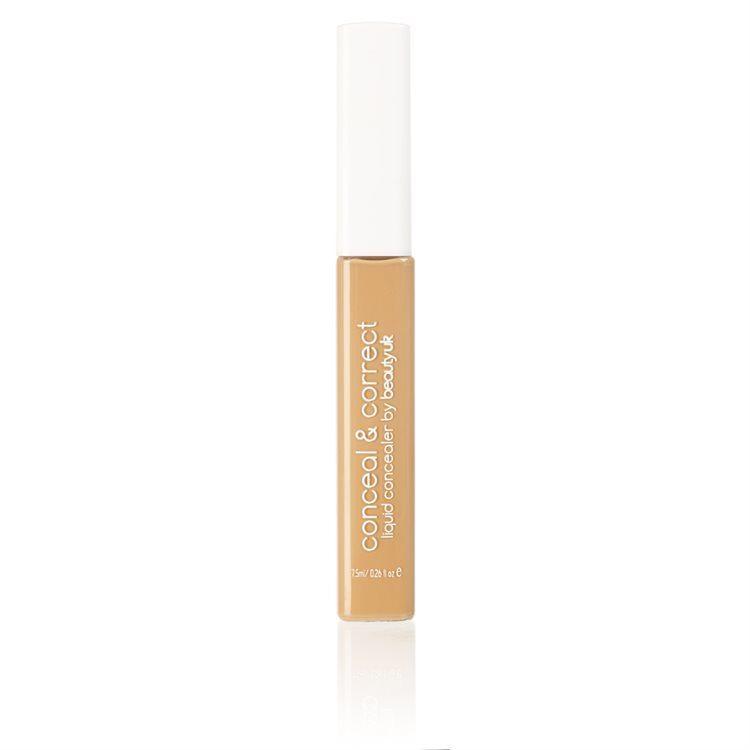 Beauty UK Conceal & Correct Liquid Concealer, No. 3