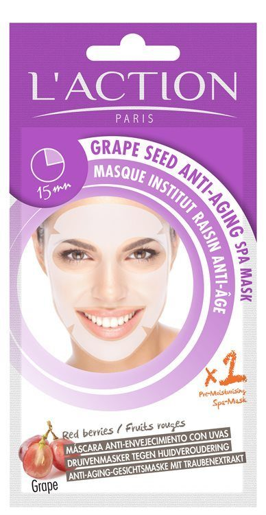 L'Action Paris Grape Seed Anti-Aging Spa Mask (26 g)