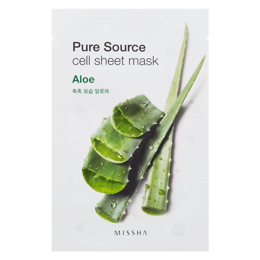 Missha Pure Source Cell Sheet Mask Aloe Vera 21g