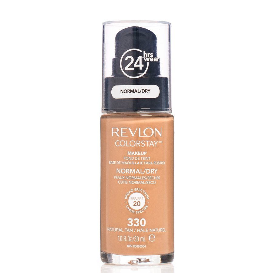 Revlon Colorstay Makeup Normal/Dry Skin, 330 Natural Tan (30 ml)