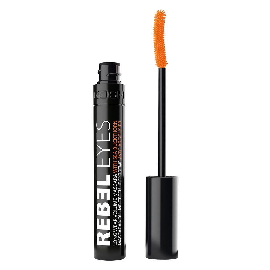 GOSH Rebel Eyes Mascara, #001 Black (9 ml)