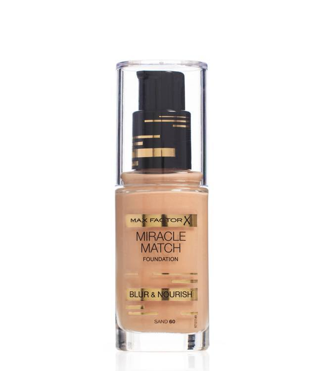 Max Factor Miracle Match Foundation, Sand 060
