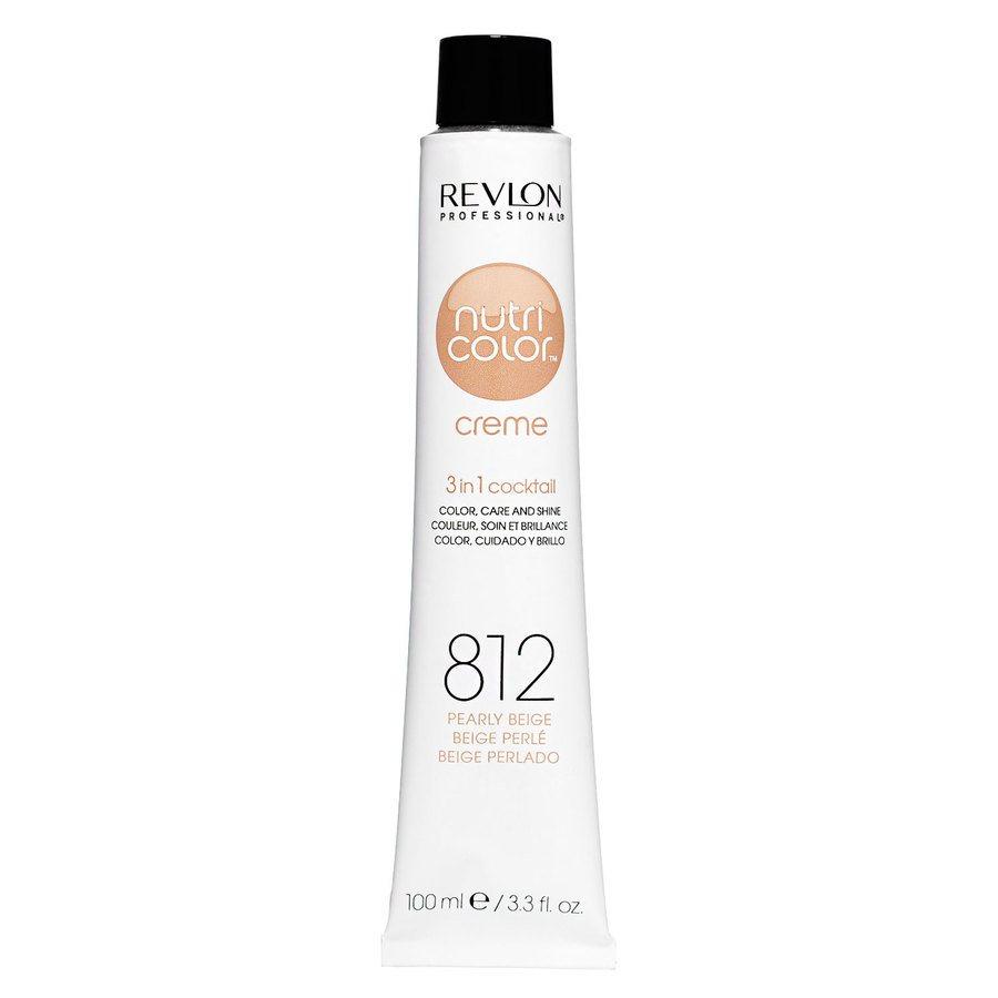 Revlon Professional Nutri Color Creme, #812 Light Pearly Beige Blonde (100ml)