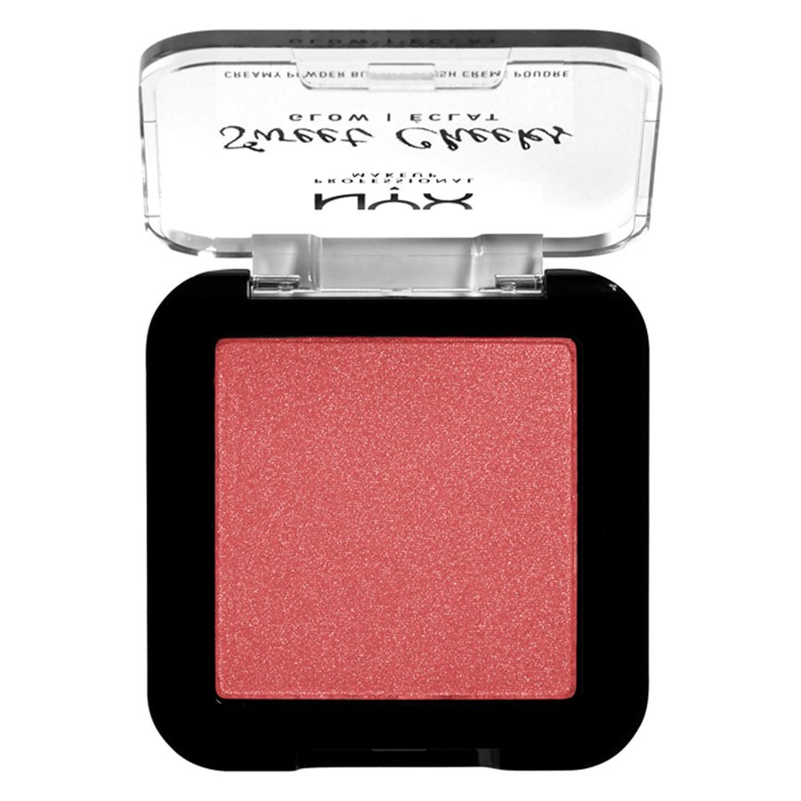 NYX Professional Makeup Sweet Cheeks Creamy Powder Blush Glow, Citrine Rose (5 g)