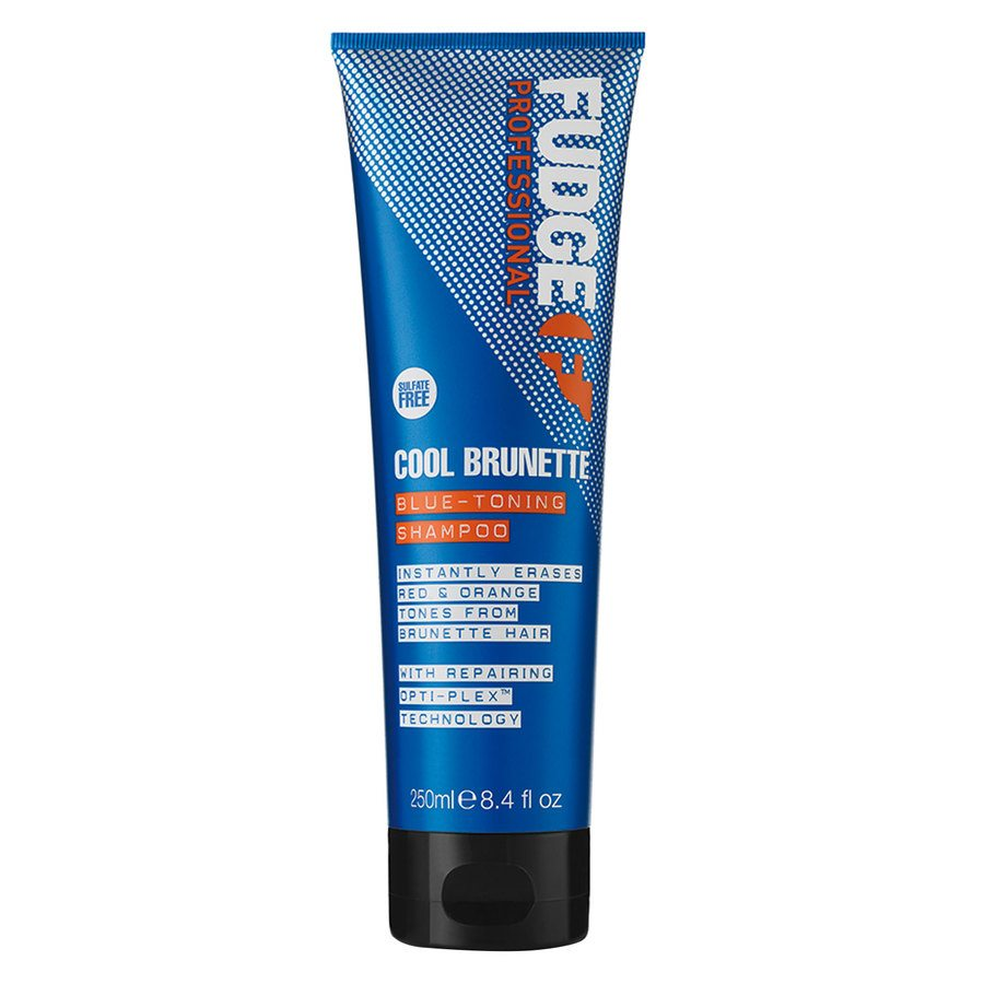 Fudge Cool Brunette Blue Toning Shampoo (250 ml)