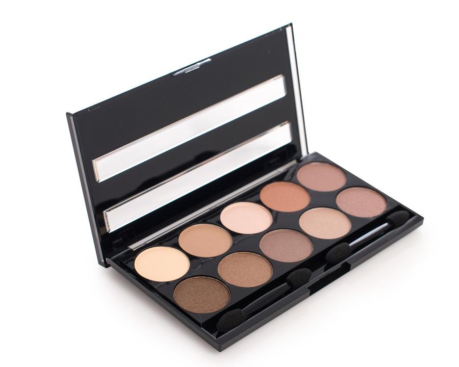 W7 Cosmetics Perfect 10 Browns Lidschattenpalette