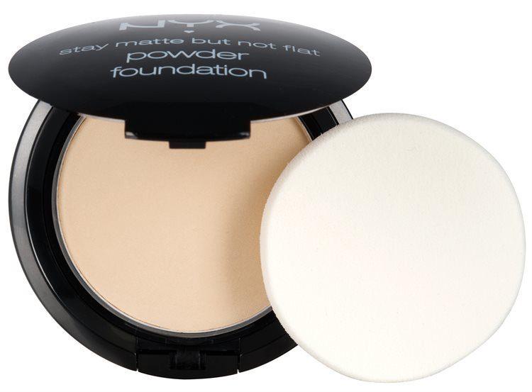 NYX Stay Matte But Not Flat Powder Foundation Ivory SMP01