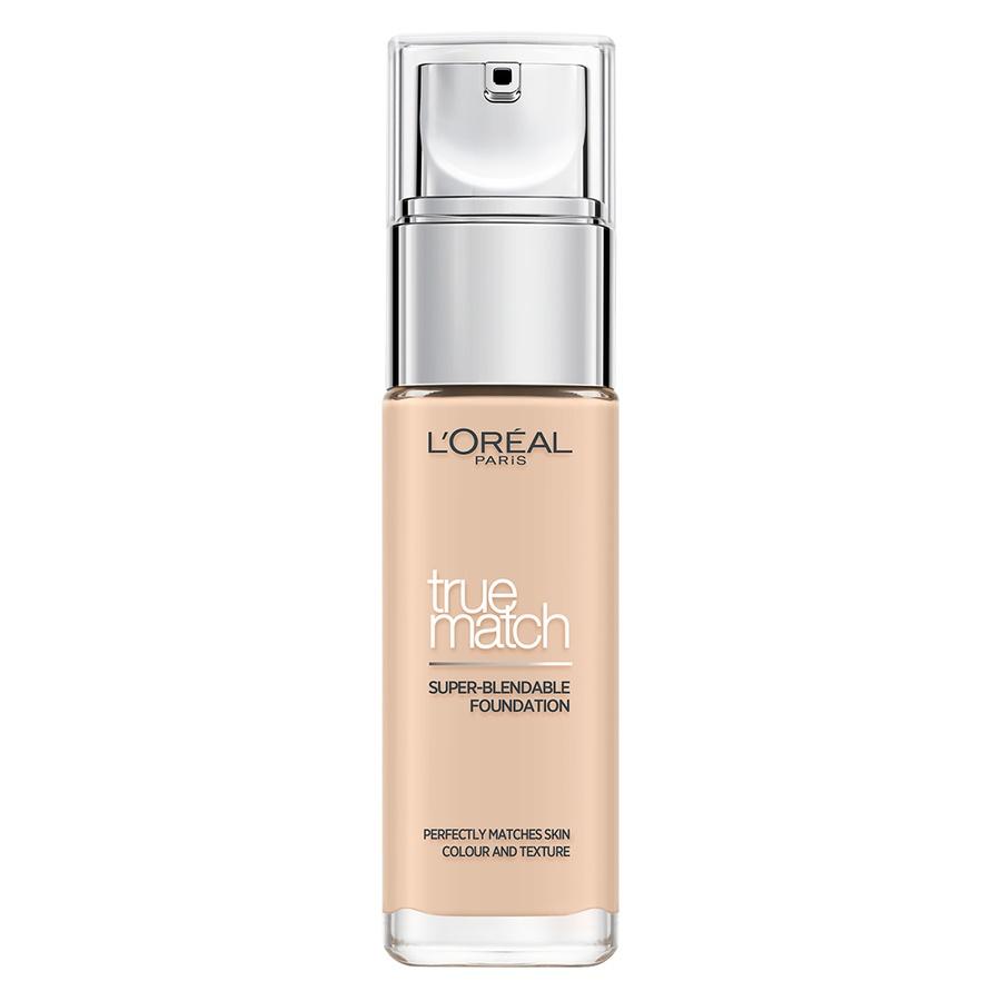 L'Oréal Paris True Match Liquid Foundation, Porcelain (30 ml)