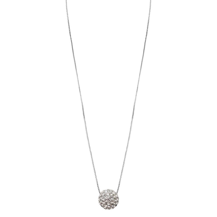 Snö of Sweden Fair Pendant Neckless, Silver/Clear