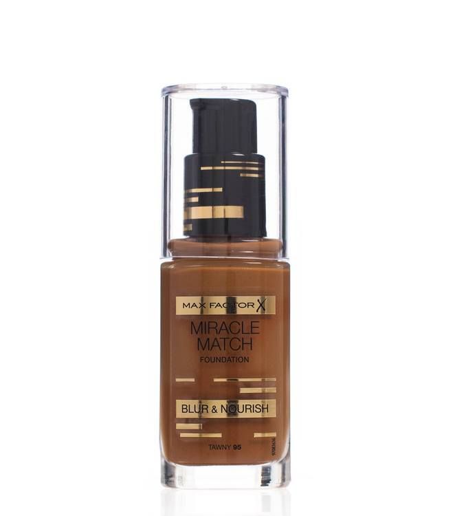 Max Factor Miracle Match Foundation, Tawny 095