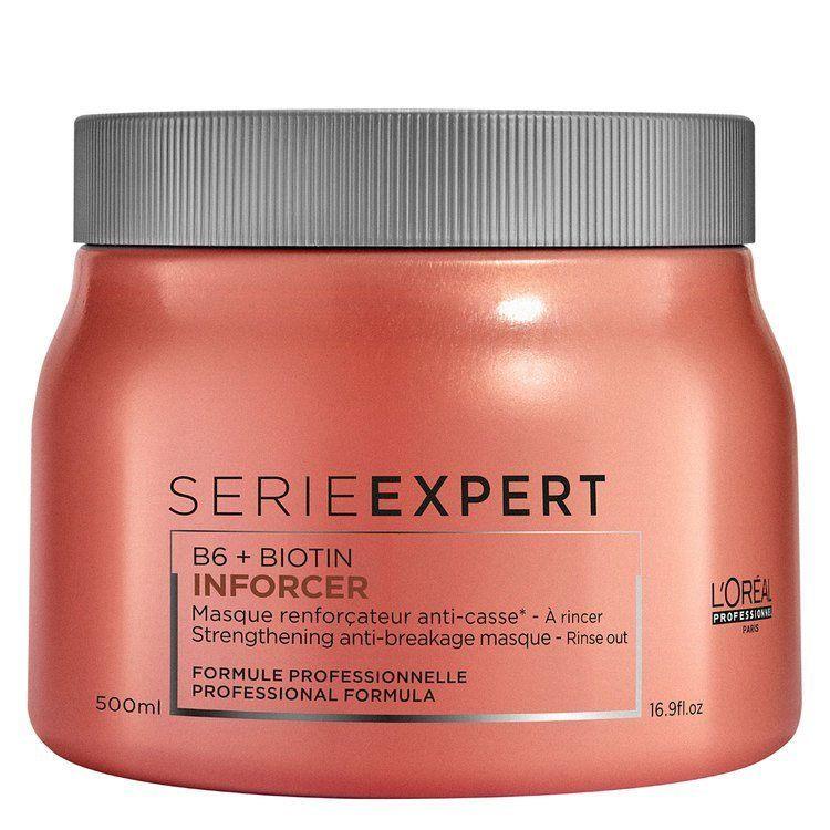 20L'Oréal Professionnel Série Expert B6 + Biotin Inforcer Masque (500 ml)