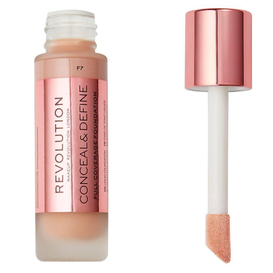 Makeup Revolution Conceal & Define Foundation F7 23ml