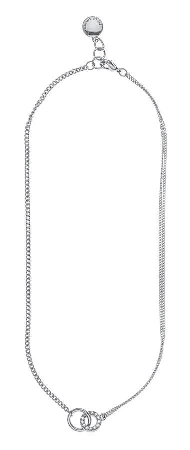 Snö Of Sweden Blizz Chain Necklace, Clear (42 cm)