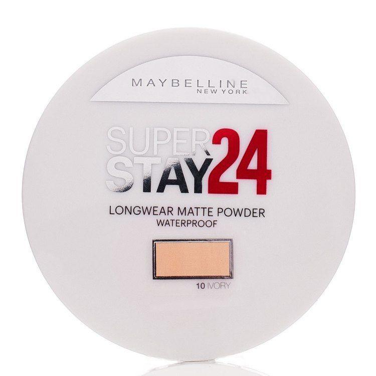 Maybelline Superstay 24h Longwear Matte Powder, Waterproof Ivory 010
