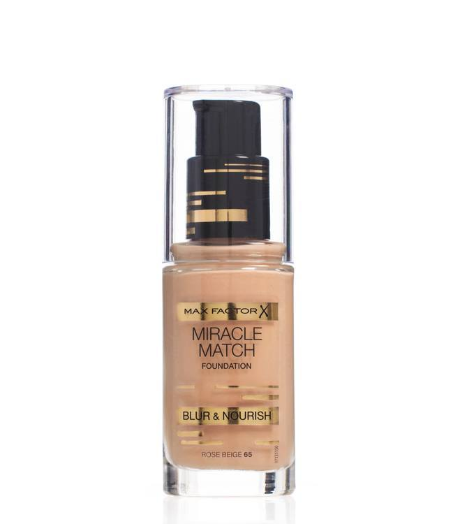Max Factor Miracle Match Foundation, Rose Beige 065
