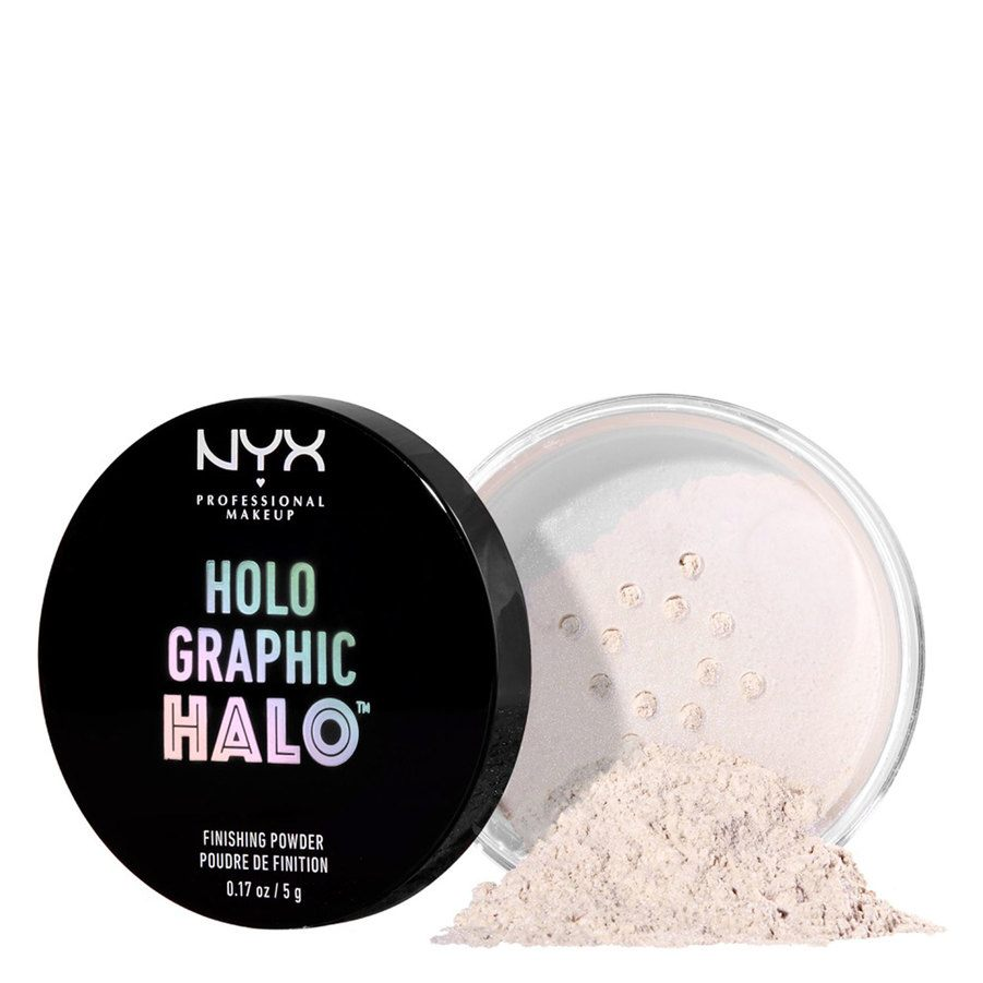 NYX Professional Makeup Holographic Halo Finishing Powder, Mermazing