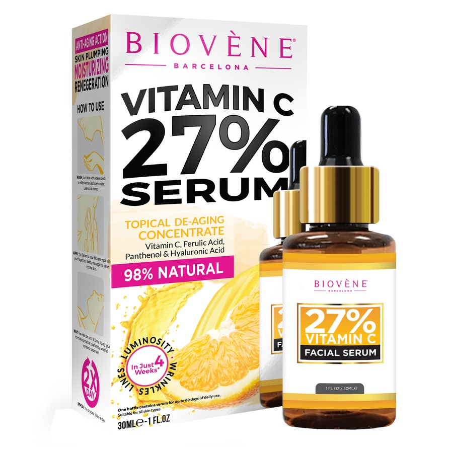 Biovène Vitamin C 27% Facial Serum (30 ml)