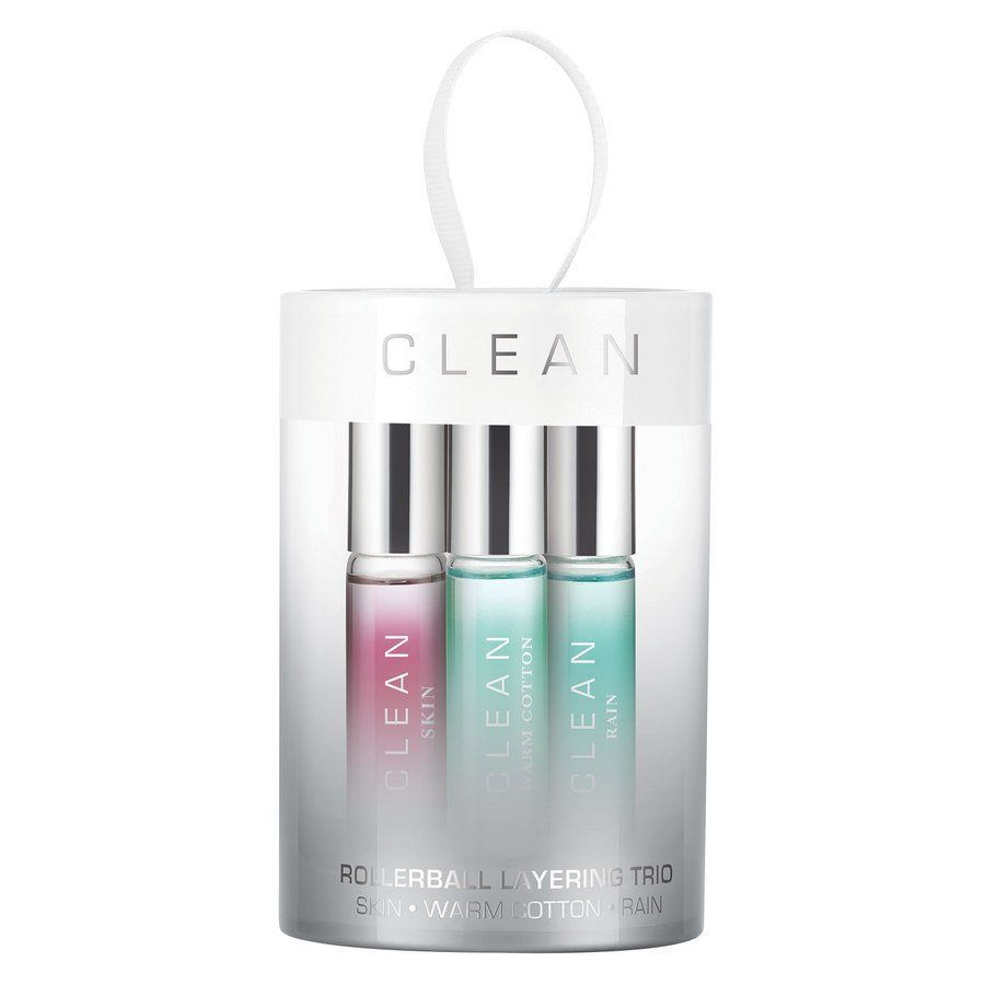 Clean Rollerball Layering Trio Eau De Parfum Set (3x5 ml)