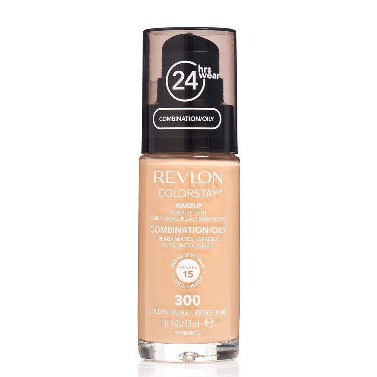 Revlon Colorstay Makeup Combination/Oily Skin, 300 Golden Beige (30ml)