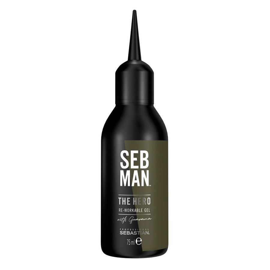 Seb Man The Hero Re-Workable Gel 75ml