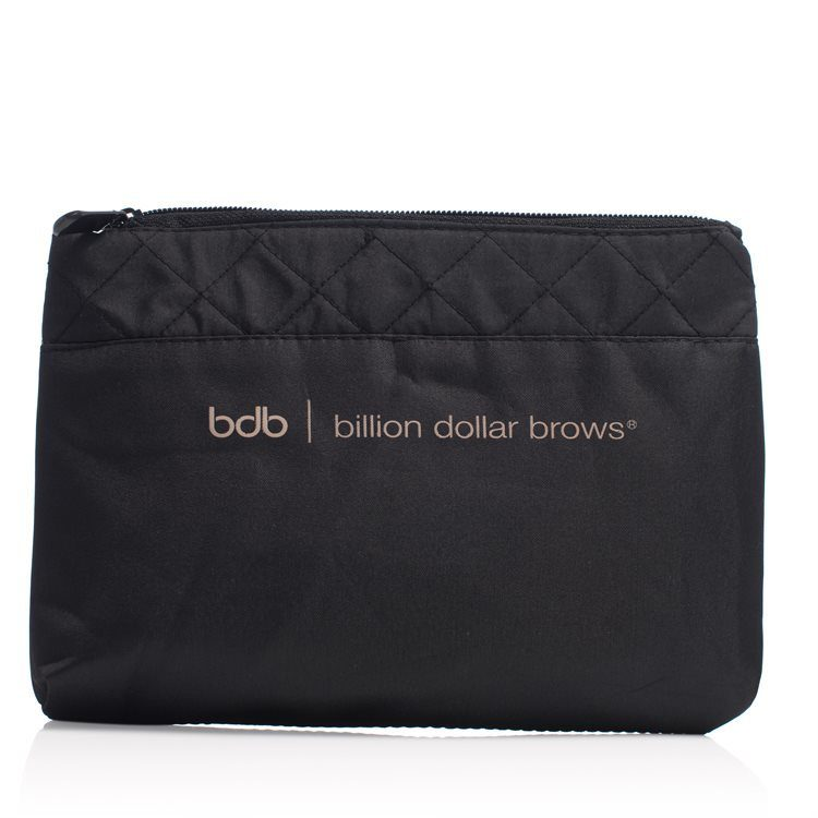 Billion Dollar Brows Cosmetics Bag